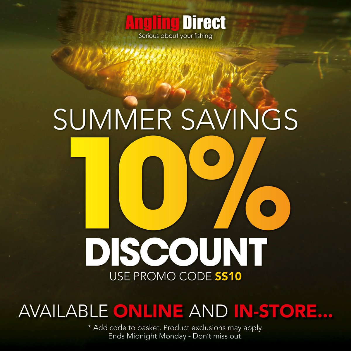 We have 21 angling direct coupons for you to consider including 20 promo codes and 1 deals in November Grab a free bestdfil3sl.ga coupons and save money. As fishing tackle specialists, Angling Direct offer a great choice of rods, reels and other fishing equipment for carp, coarse, match, fly 5/5(1).