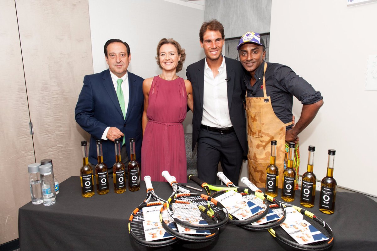 Great to have @RafaelNadal in NY promoti...