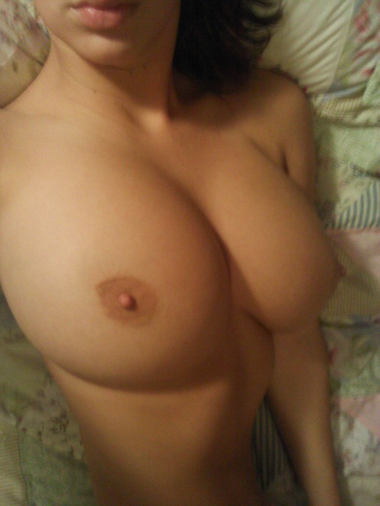 Perfect tits selfie nude