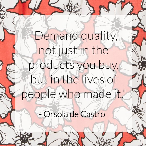 Some inspiration from one of the brilliant co-founders of @Fash_Rev. Happy Friday! https://t.co/3jBP9TnOqu