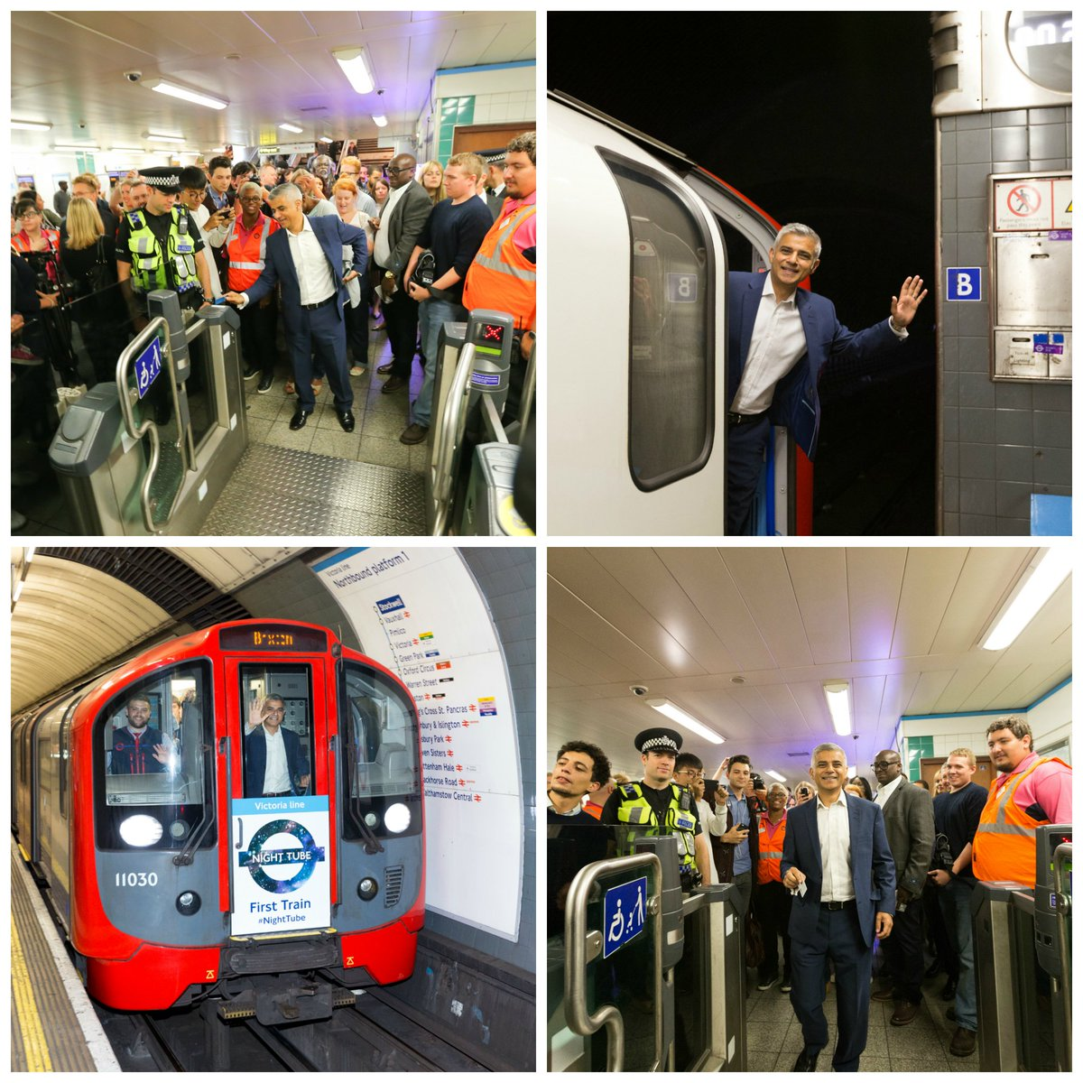 Cqyq6REWcAAbR3q - The Victoria Line's really big 50th birthday! #2