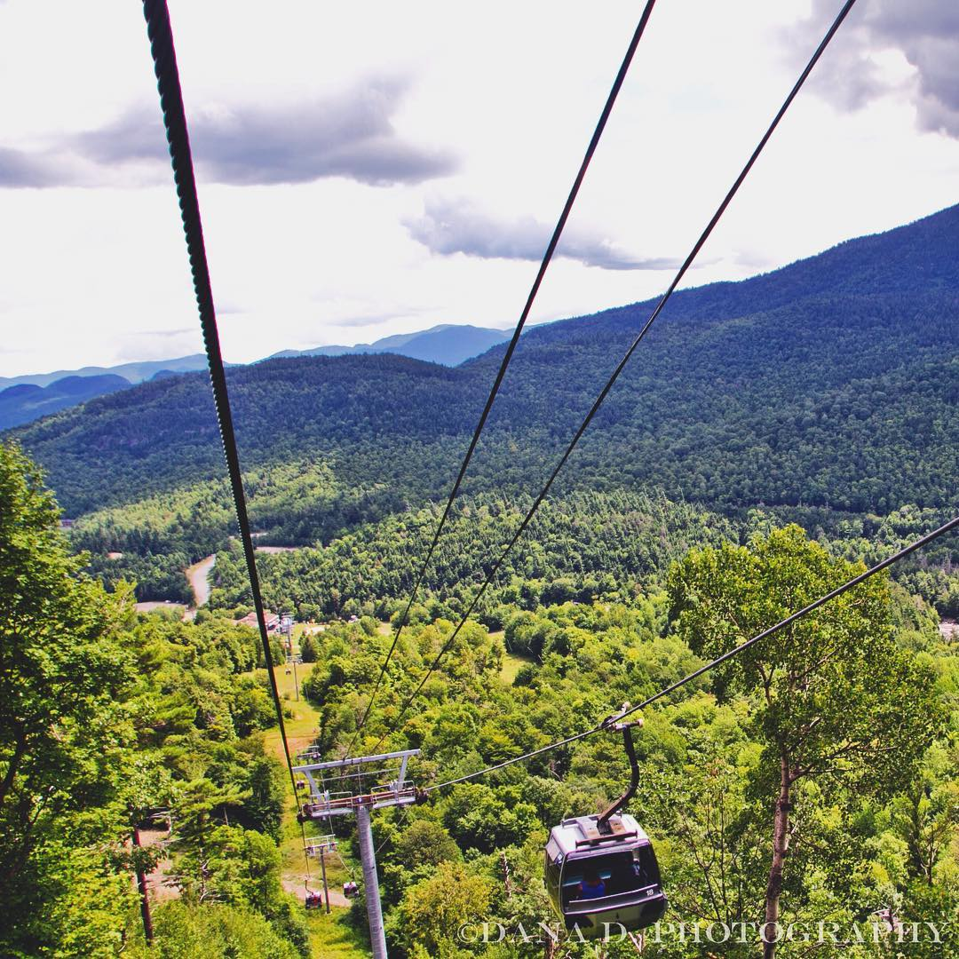 Witness Little Whiteface from above via the aptly-named Cloudsplitter Gondola @SkiWhiteface