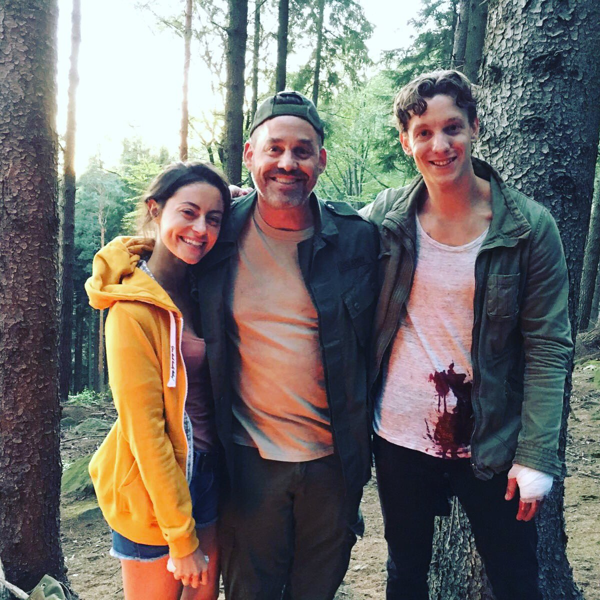 That's a wrap on @redwoodmovie for the brilliant @NicholasBrendon thanks for being apart of this buddy! #21pilots https://t.co/VXCgVVhmZk