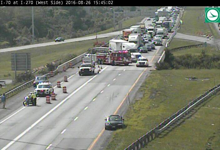 Wsyx Abc 6 On Twitter Update Crews Have Reopened 2 Lanes Of I 70 East On The West Side Right Lane Blocked