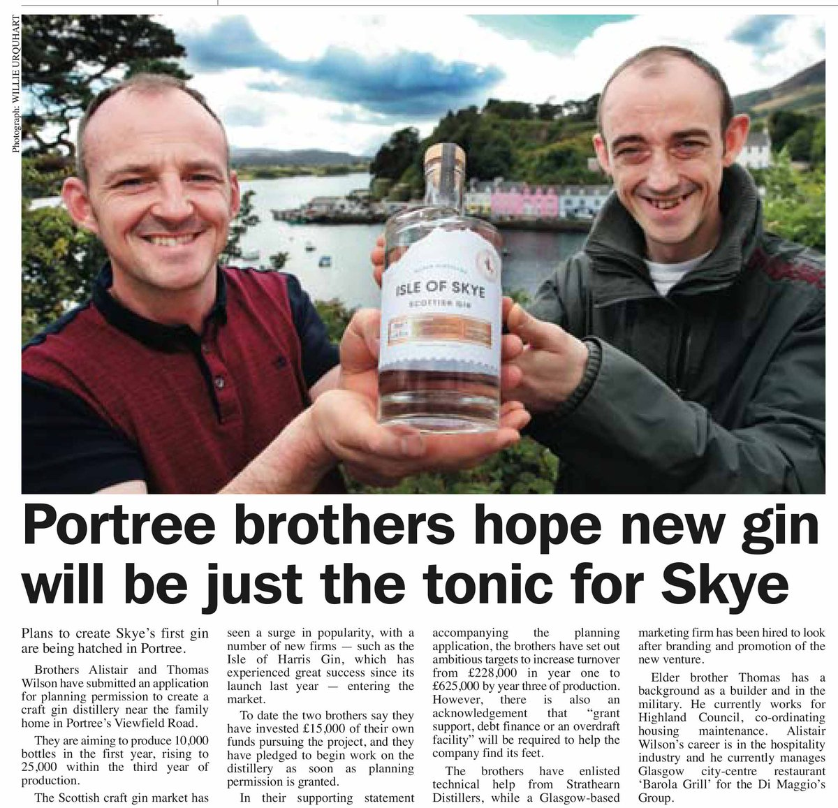 Isle of Skye Distil on Twitter: