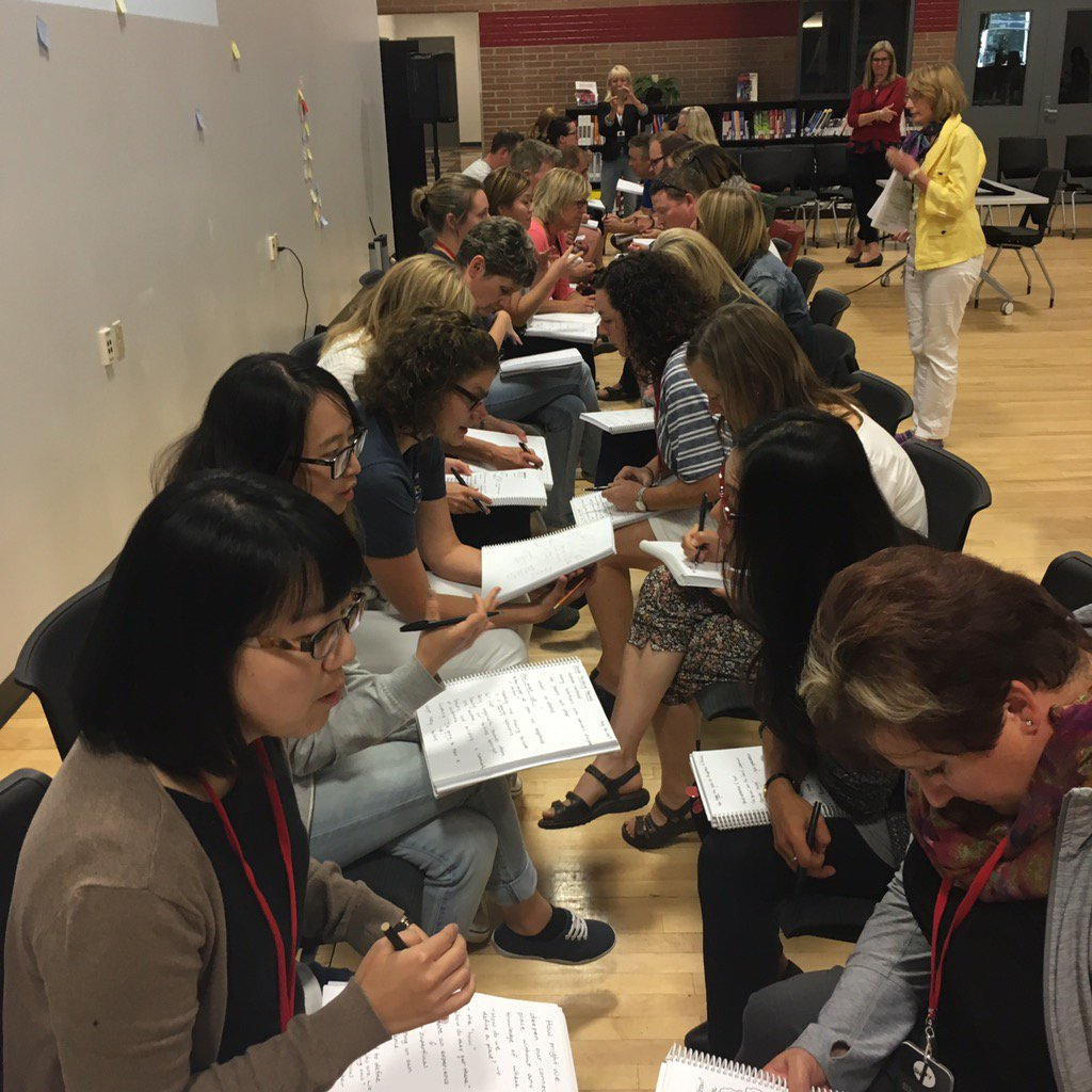 Speed dating is a way to interview for empathy. Ask how, why and follow your curiosity. #cbeshift https://t.co/5WDaShngm7