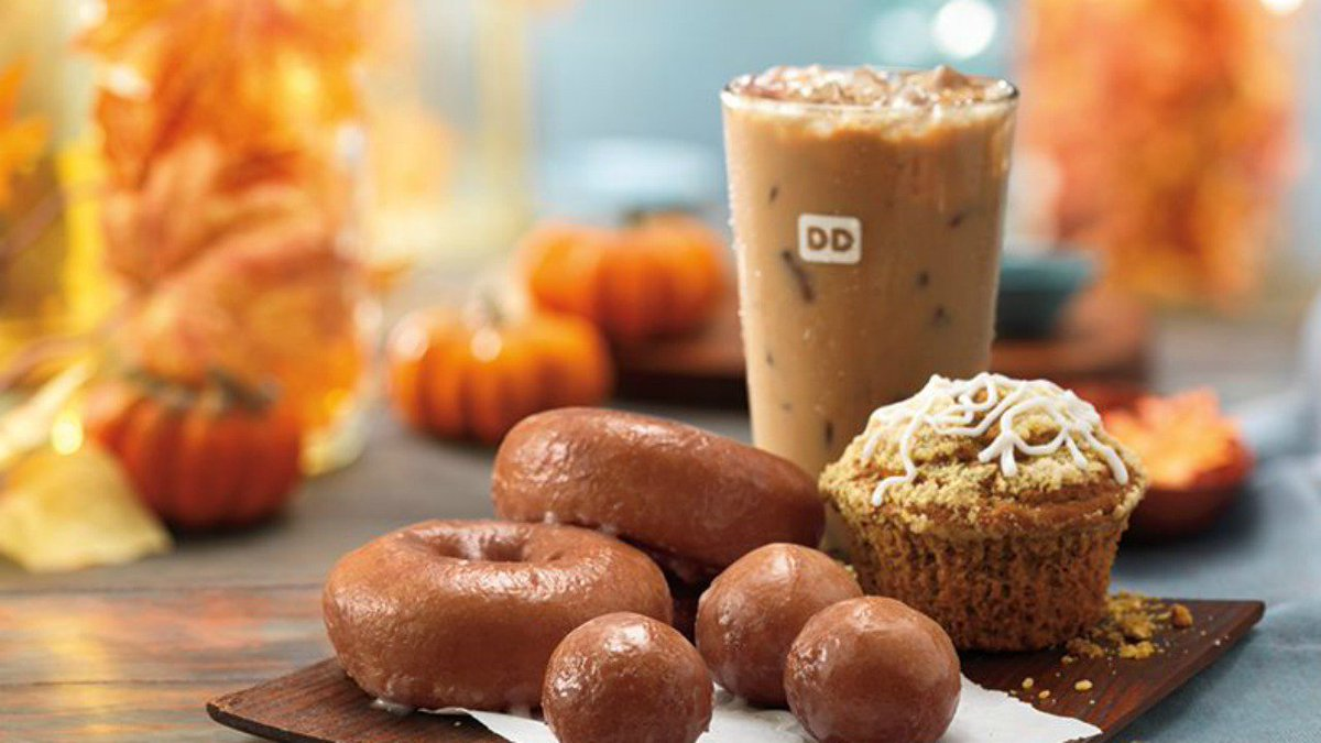 Only a few more days until Dunkins' Pumpkin Spice is back