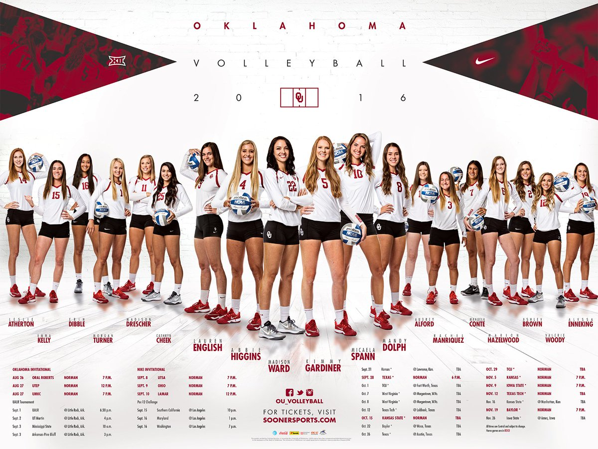 First look at the 2016 #OUVB poster!   Available tonight plus sunglasses for the first 200 students in attendance. https://t.co/4TYdgUBsCY