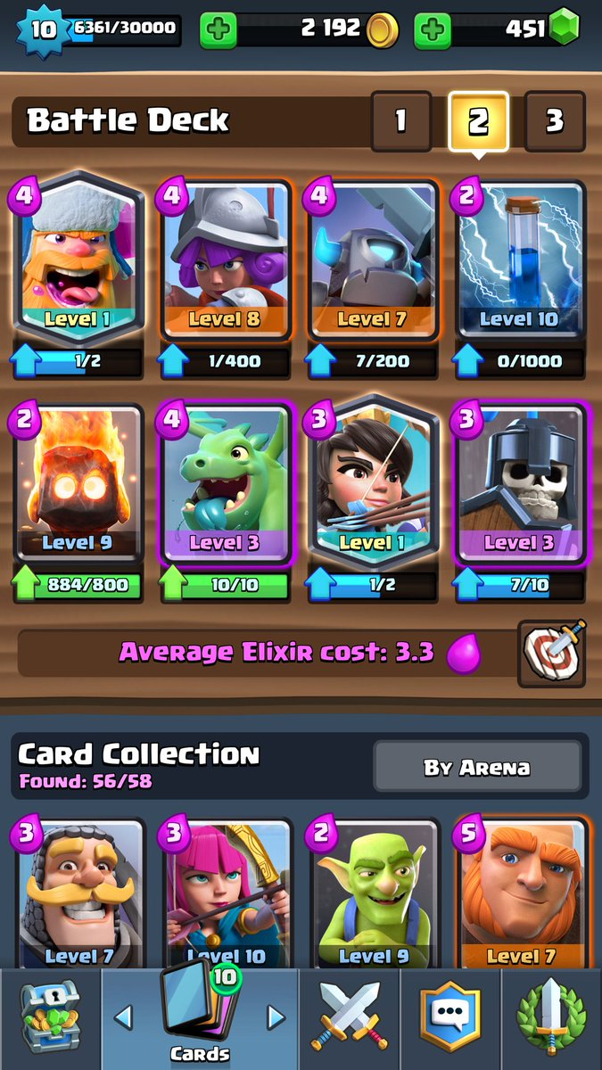 Clash Royale Clone Spell Decks New Card How To Use Arena 8 Strategy Best Supercell