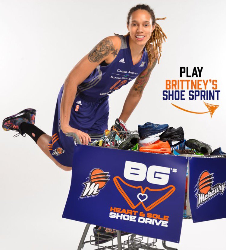 Before tonight's #HeartandSole shoe drive, check out @brittneygriner's shoe sprint.   Play» http://on.phxmerc.com/14r