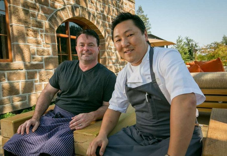 NorCal/SoCal fusion: rival chefs thrive at new St. Helena restaurant. via @michaelbauer1