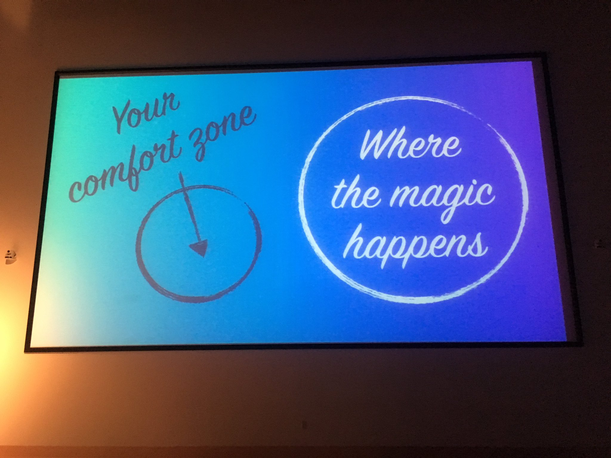 So true, @zenorocha #nejsconf #wherethemagichappens https://t.co/BV673rZsW1