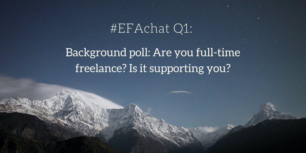 #EFAchat Q1 https://t.co/O6qNs2Zv9L