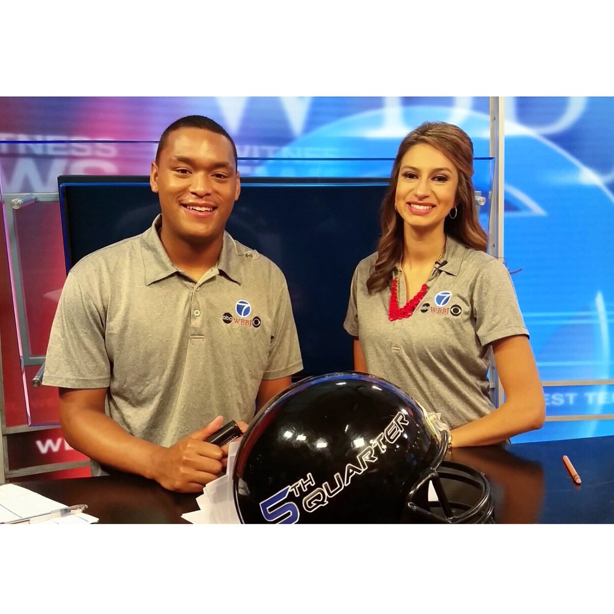 Chelsea Ambriz On Twitter Meteorologist By Day Sports Co Host By Night Thanks Wbbj7ahmad For Letting Me Join You For The 5th Quarter Fun