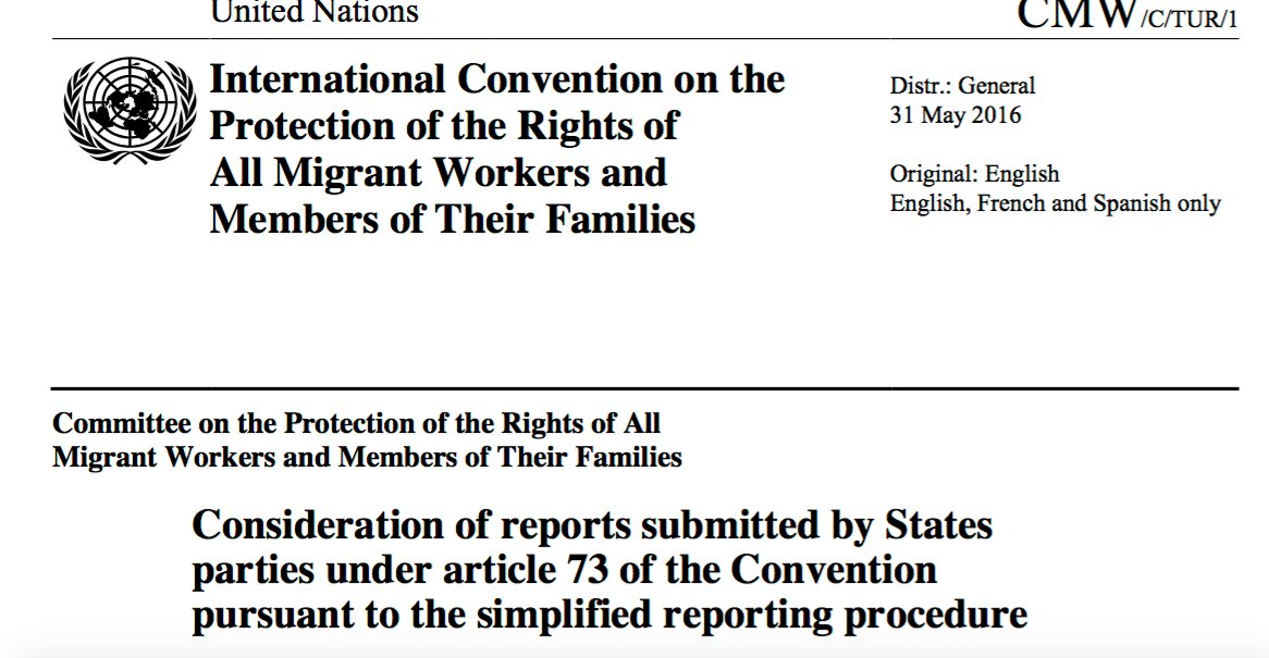 12) Gov't sent its explanations to the UN on April 8 & the UN committee published the responses on 31 May 2016. https://t.co/gOJighkTan