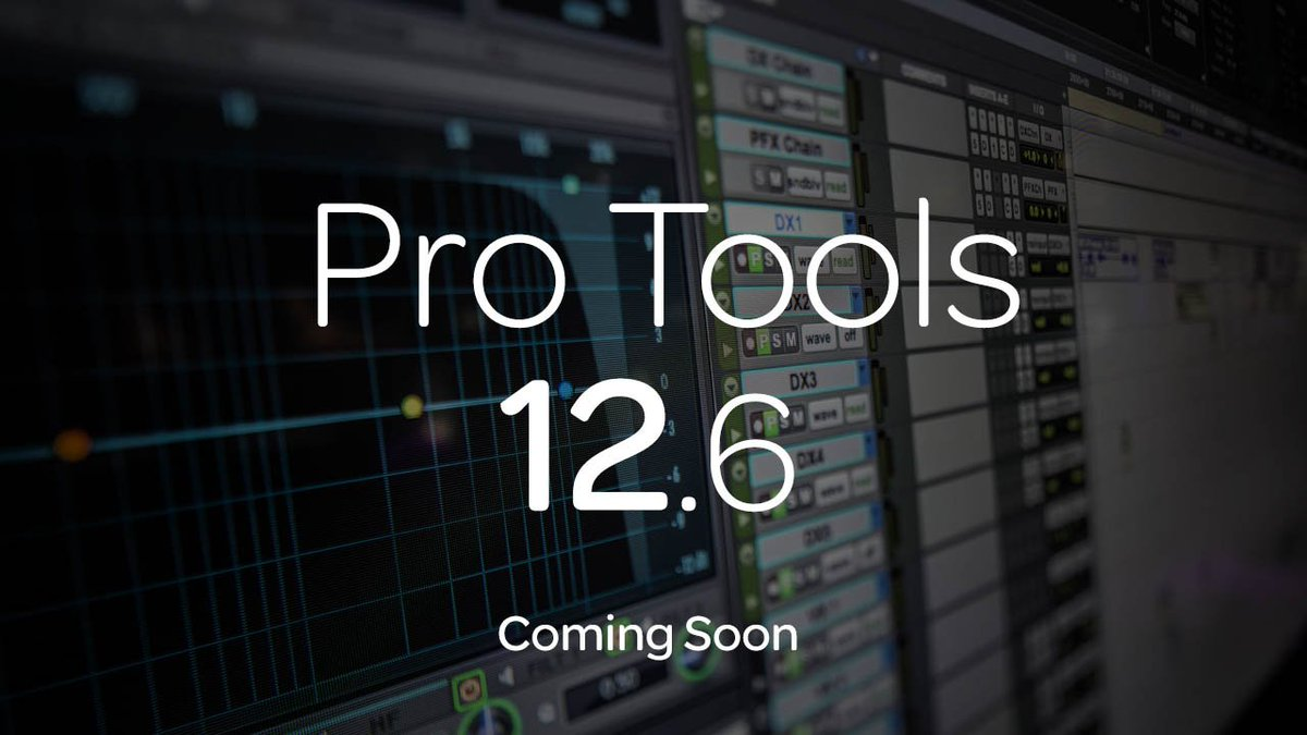 #ProTools 12.6 is coming soon—Check out the upcoming features on Avid Blogs: https://t.co/4eILgYTbOO #Avid #IBCShow https://t.co/MIZQ2vFiiT