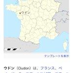 誰かに教えたいwフランスのウドン市のスペルがおうどん!