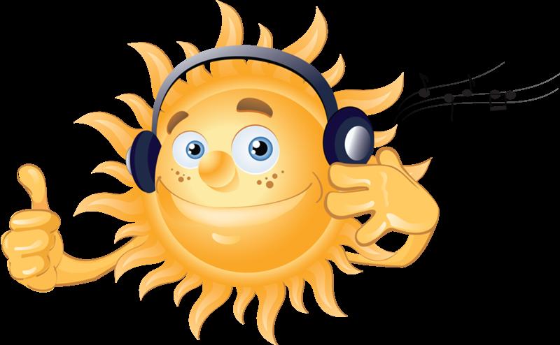Прикольные картинки солнца для детей