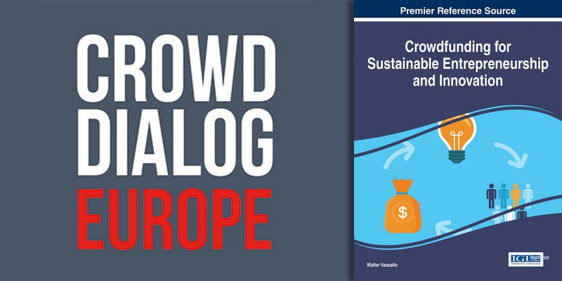 "At 14:00 academic book launch ""Crowdfunding for Sustainable Entrepreneurship and Innovation"" #crowddialog https://t.co/YjiHxIyzJV"