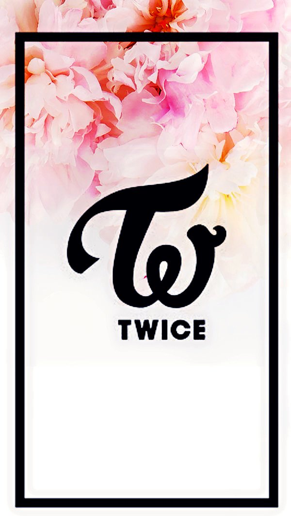 Kkaengie Yesoryes On Twitter Twice Logo In Floral Background