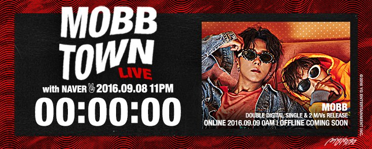 [MOBB - 'MOBB TOWN LIVE' COUNTER] originally posted by https://t.co/XZQ3IOI9MY #맙 #MINO #BOBBY #송민호 #바비 #VLIVE #YG