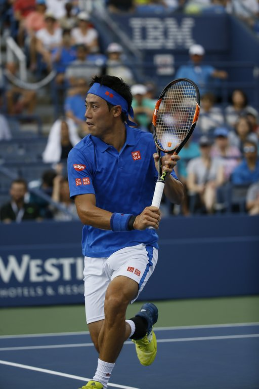 Congratulations to our global brand ambassador, @keinishikori, through to the semi-finals! Go Kei! https://t.co/7Yv9cIGop4