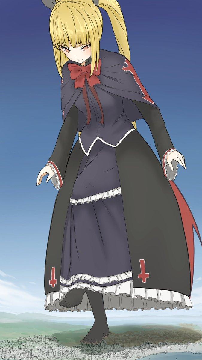 Giantess anime sock AnimeFootdom