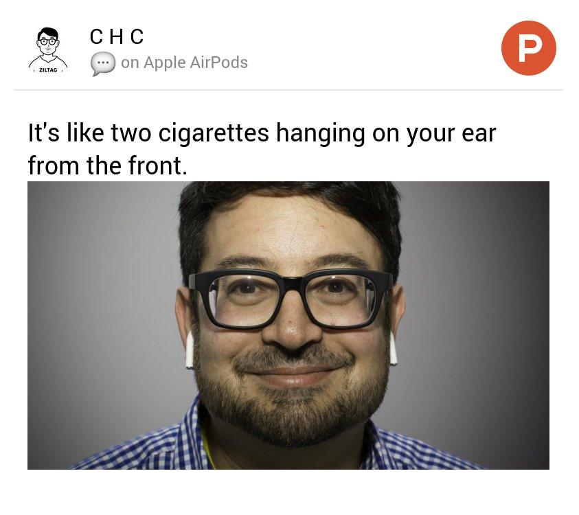 Di lato sono belli, ma di fronte sembri il parcheggiatore abusivo che si è messo le sigarette dietro le orecchie https://t.co/Pi0HCGmbgZ