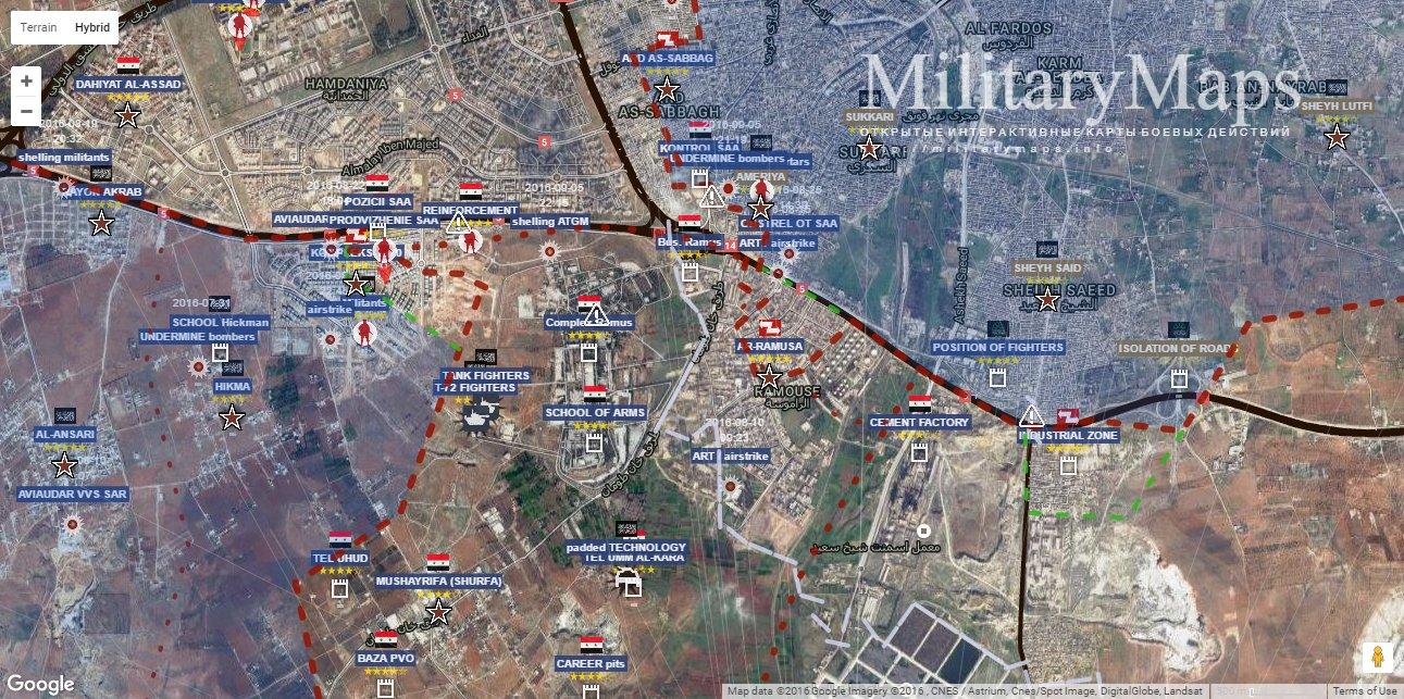 Resultado de imagen de Ejército sirio se apodera de gran parte del distrito al-Assad