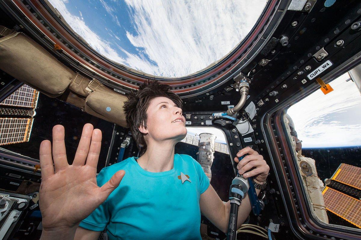 Der Weltraum, unendliche Weiten…  Danke @startrek, dass Ihr uns seit 50 Jahren inspiriert! #LLAP50 https://t.co/VAGbIDB4uF