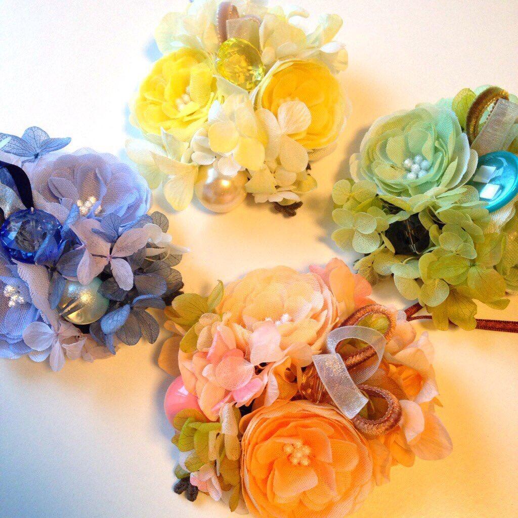 可憐な布花が美しい♡素敵な布花をハンドメイド♪