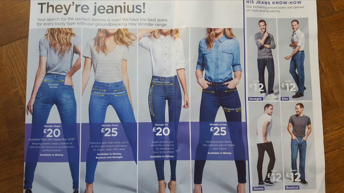 Dear @asda Why do your men in jeans have heads but women just faceless bodies wanting 'uplifted bottom'? It's 2016. https://t.co/v3t7m1FojS