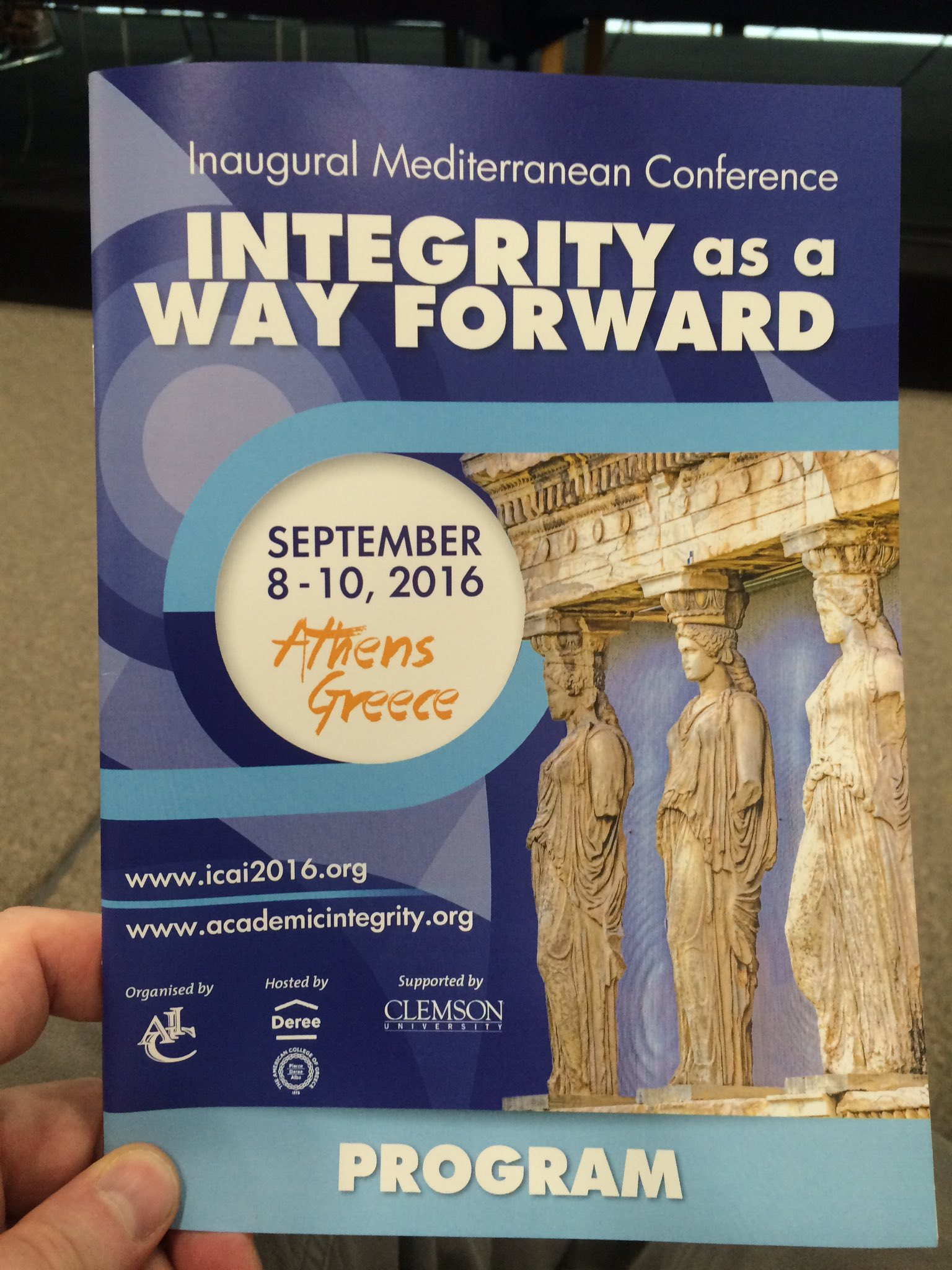 Thumbnail for International Center For Academic Integrity Inaugural Mediterranean Conference - Athens, Greece - September 2016