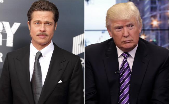 Brad Pitt pensa che Donald Trump sia ridicolo