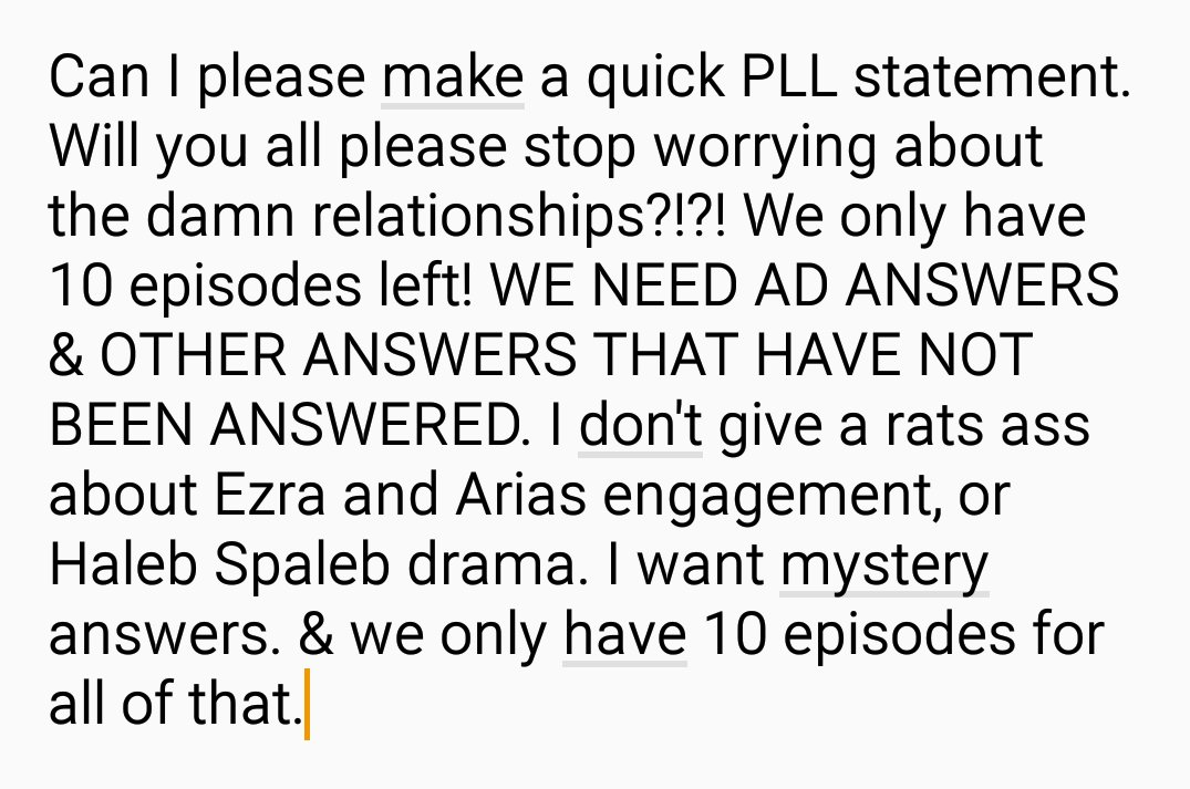 Pll Lover On Twitter Can Everyone Please Think About This