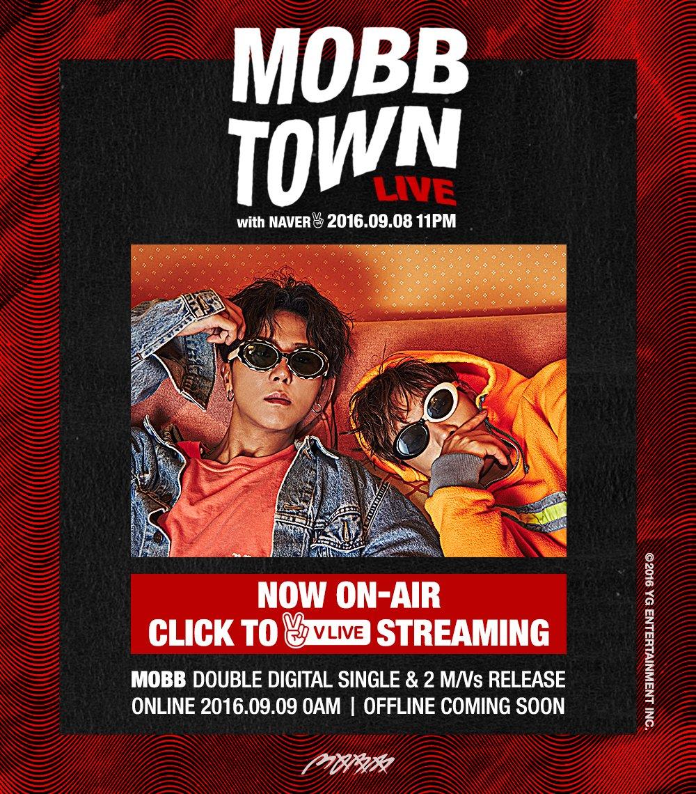 [MOBB - MOBB TOWN LIVE] Watch @ https://t.co/701QSDotWp #맙 #MINO #BOBBY #송민호 #바비 #MOBBTOWNLIVE #NAVER #VLIVE #YG