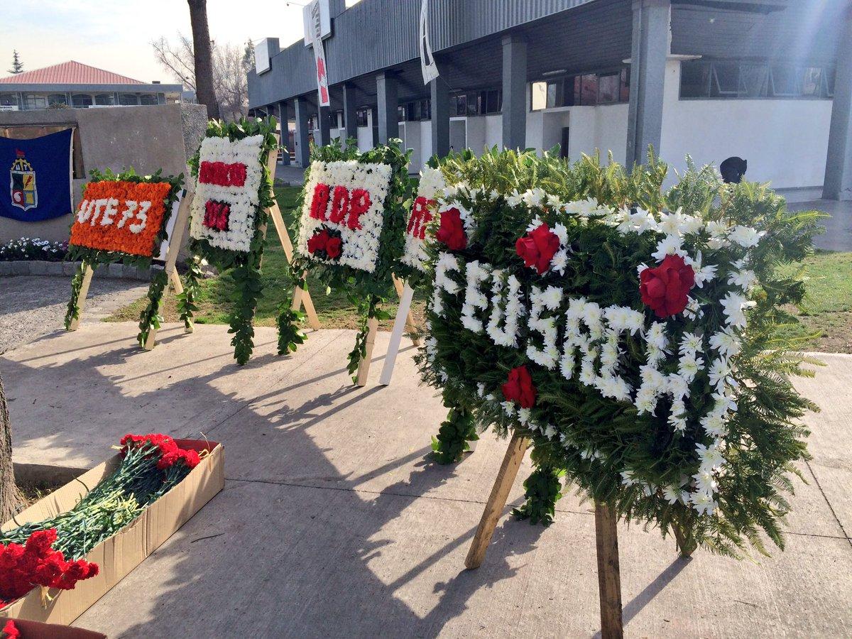 [Ahora] Romería en homenaje a las víctimas de la dictadura de la UTE - Usach https://t.co/VDfCNikBBT