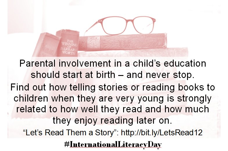 Parents, read yr children a story on #InternationalLiteracyDay Here's the research https://t.co/qdFa8uSH2K #OECDPISA https://t.co/iCGVySgc40