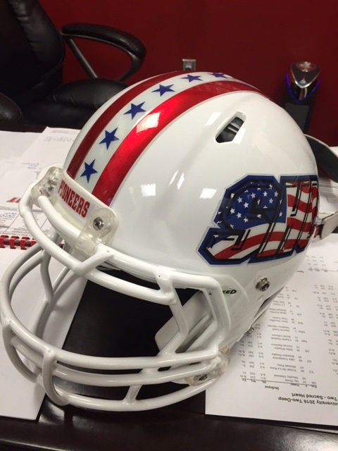 @SHU__Football will wear these special helmets Sat. honoring our First Resp. in tribute on the 15th anniv. of 9/11 https://t.co/62thU6cBEm
