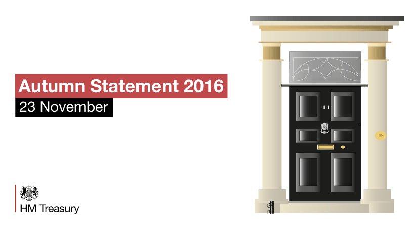 Philip Hammond to give Autumn Statement on November 23