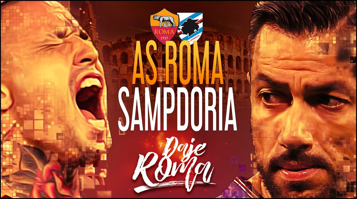 Serie A: Roma-Sampdoria Streaming e Diretta TV, dove, come e quando
