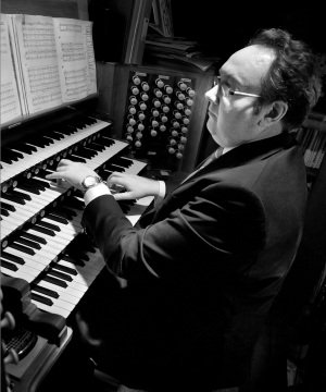 Image result for David Leigh organist