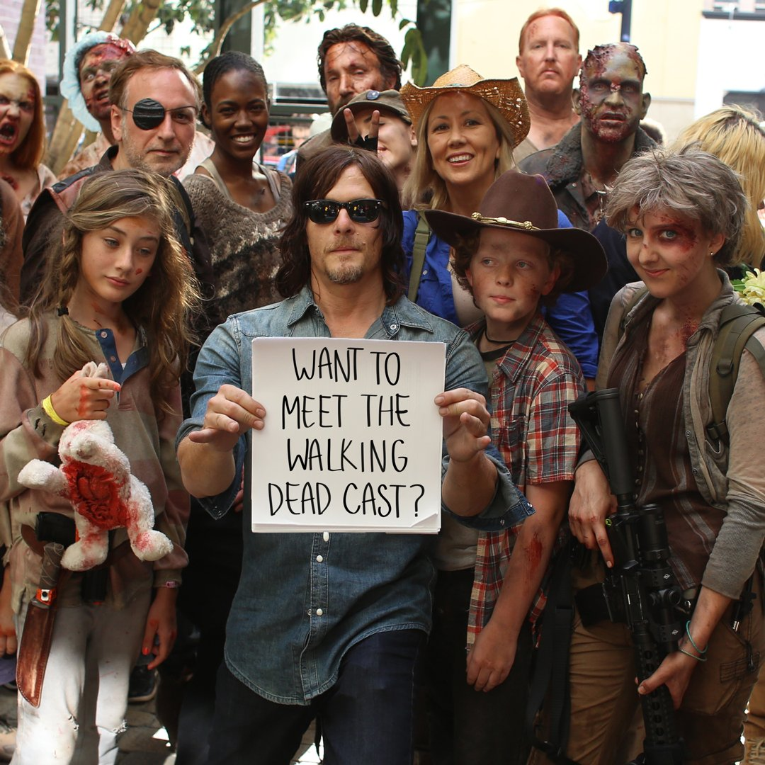 walking dead meet and greet new york