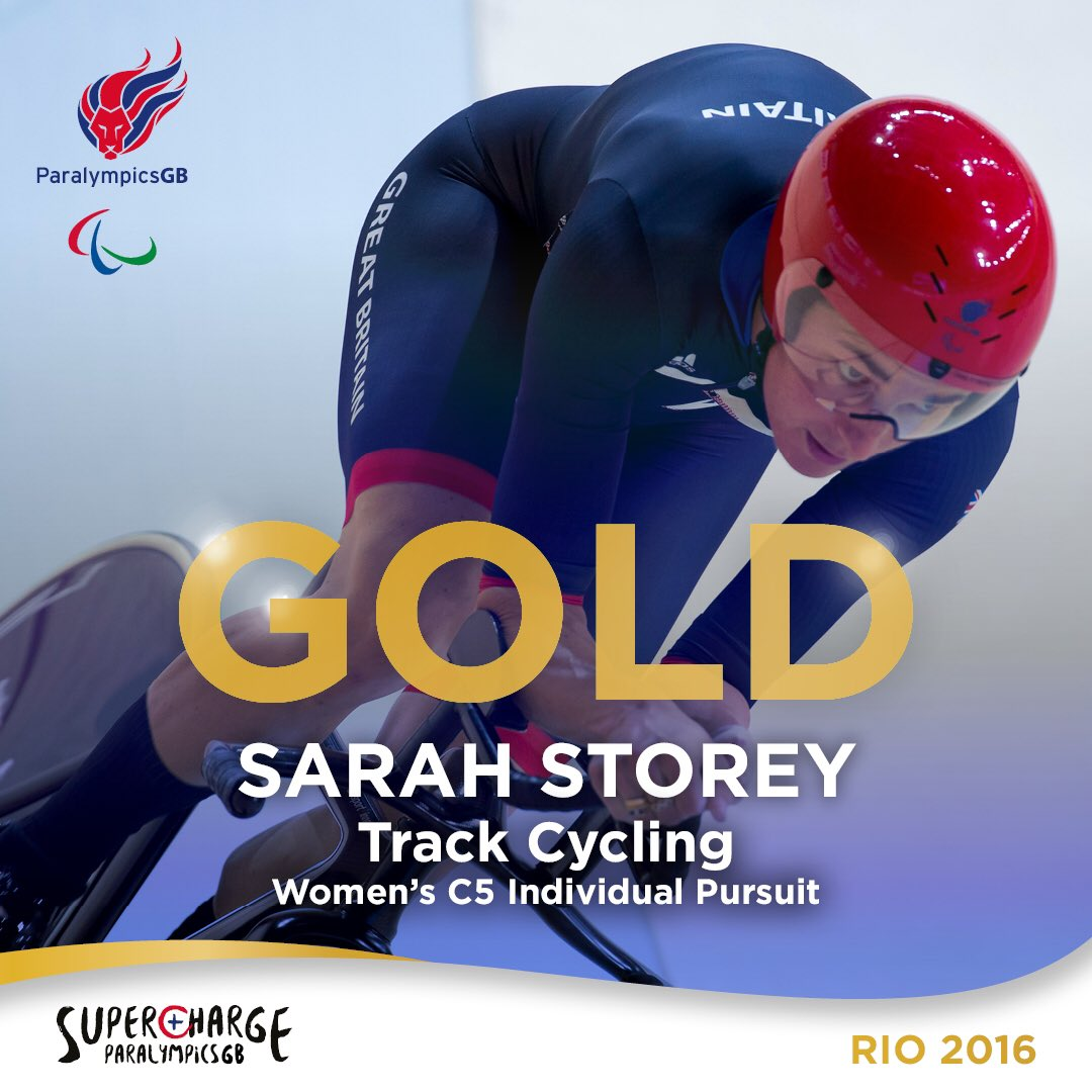 History made.  12th #gold   Ladies and gentlemen, @DameSarahStorey   #Supercharge https://t.co/uQpKioHZms