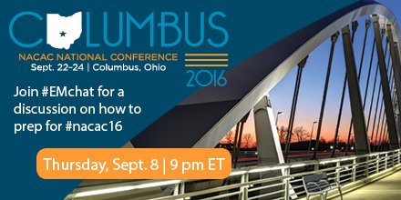 Thumbnail for #EMchat: Prepping for #NACAC16