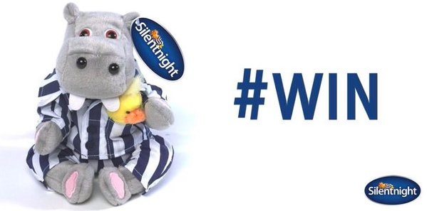 Follow and RT to #WIN a Silentnight Hippo and Duck [CLOSES 11:59 TONIGHT] #FreebieFriday https://t.co/aPLW2cGNVW