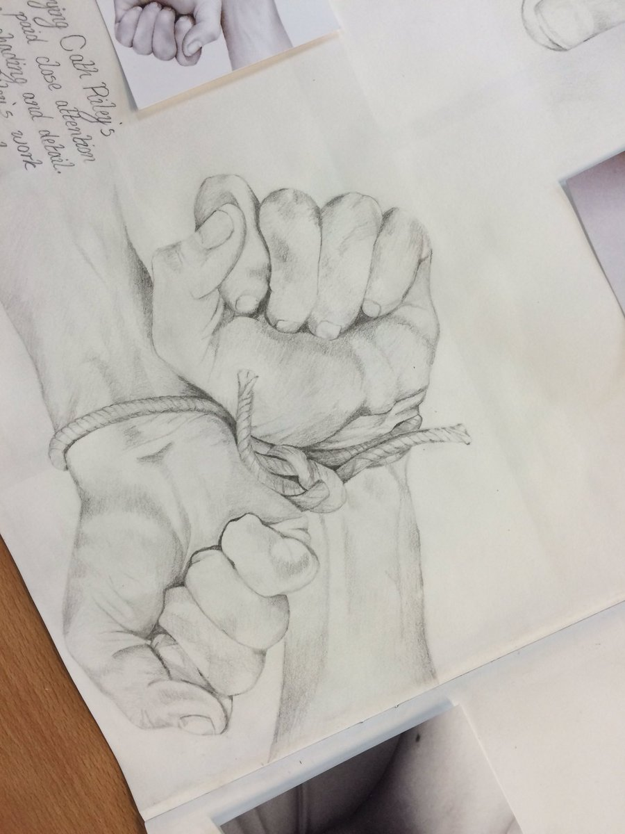Broadlands art dept on twitter more close up studies from year 11 today inspired by the artist cath riley