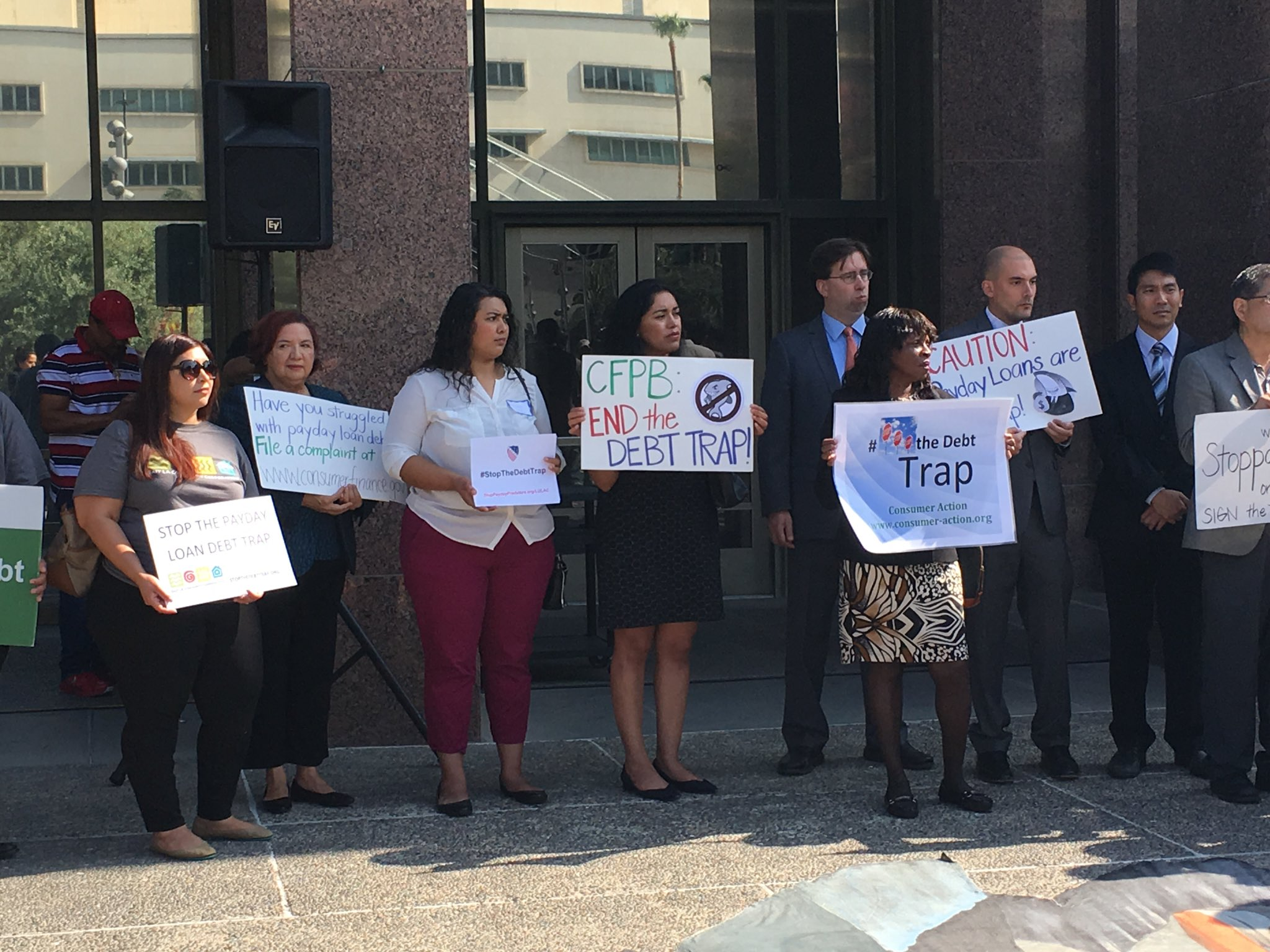 Payday lenders prey on vulnerable communities and trap them in a cycle of debt. Time for @CFPB to #StopTheDebtTrap https://t.co/2Ju4Tl7VN3