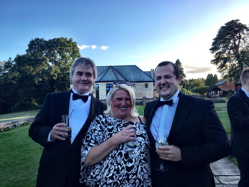 Lovely Nick Sinclair @EmlynChef with Michaela & Neil @Norburycheese #SLFDA https://t.co/tfXI9qv7EL