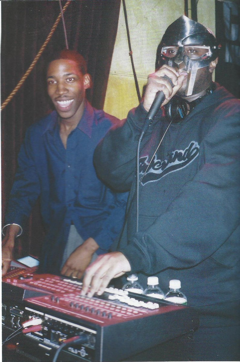 #tbt with @MFDOOM - October 2002 https://t.co/YgBSCFtnbq